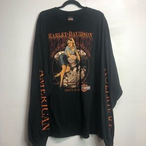 Harley-Davidson 5XL HD 2011 long sleeve T-shirt